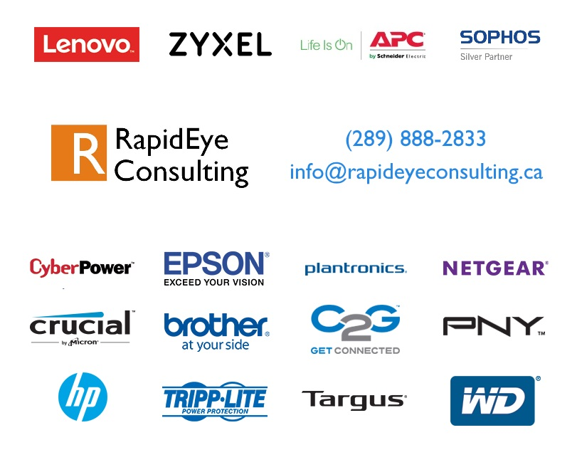 289-888-2833. We have access to many brands of computer and network hardware. Acer, ASUS, Lenovo, HP, WD, PNY, Crucial, ZYXEL, Netgear, Cisco and much, much more